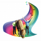 logo mon ami poney